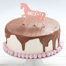 Personalised Horse/Pony Birthday Cake Topper
