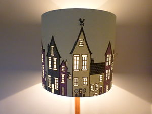 The Street Lampshade Or Ceiling Shade
