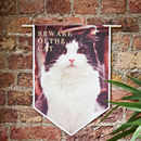 Personalised Pet Canvas Banner
