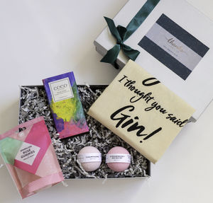 The Soak Gift, Tote Bag, Bath Drops And Confectionery - bathroom