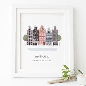Personalised Amsterdam City Print