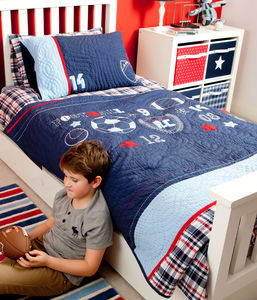 Sports Single Quilt - bedspreads & quilts