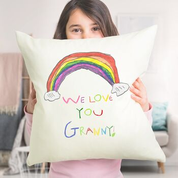 Cushion With Your Child's Drawing