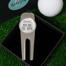 Personalised 'You Are Tee Riffic' Golf Divot Tool