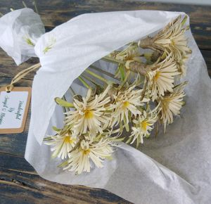 Handmade Wooden Wild Flowers - flowers & chocolates with a twist
