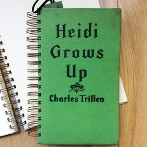 'Heidi Grows Up' Upcycled Notebook
