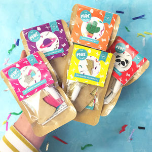 Set Of Five Badge Making Craft Kits - gifts for tweens