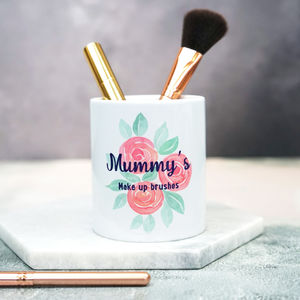 Personalised Rose Make Up Brush Pot - what's new