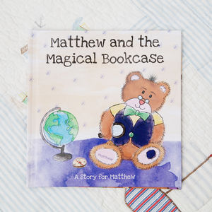 The Magical Bookcase Personalised Book - books