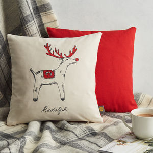 Rudolph Cushion - bedroom