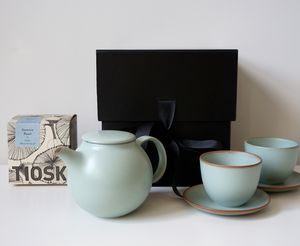 Japanese Tea Set + Loose Tea Gift Box - original gifts for him