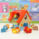 Children's Personalised Wooden Farmhouse