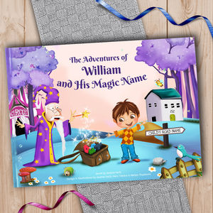 Personalised Keepsake Story Book With Exclusive Cover - for under 5's