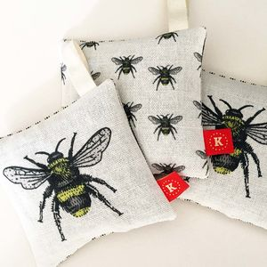Bee Motif Lavender Bag - decorative accessories