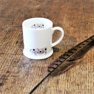 Pig Bone China Mini Mug