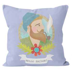 Personalised Sailor Cushion - cushions