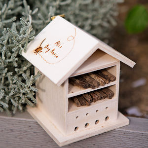 Personalised Wooden Bug House - garden gifts for children