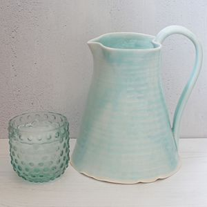 Hand Thrown Water And Flower Jugs