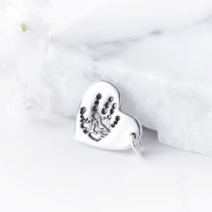 Personalised Hand Or Foot Print Charm
