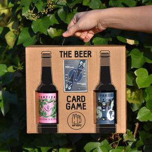 Beer Card Game And Craft Beer Gift Set - 21st birthday gifts