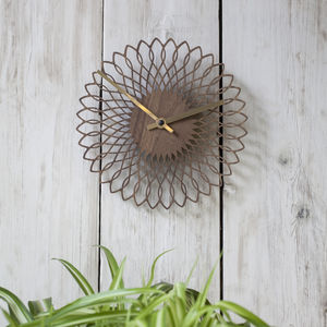 Contemporary Spiro Dinky Clock - decorative accessories