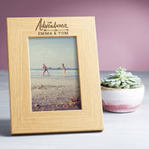 Personalised Photo Frame - anniversary gifts
