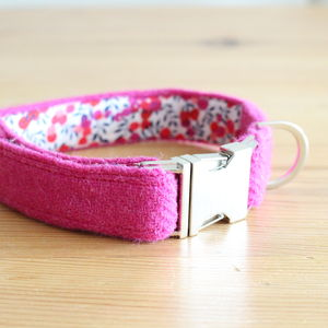 Nessie Harris Tweed Dog Collar - pet collars