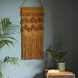 Rust Textured Wall Hanging - re-earthed