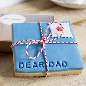 Dear Dad Cookiegram - biscuits and cookies