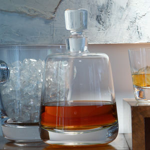 Personalised Decanter 'Madrid' - new in home