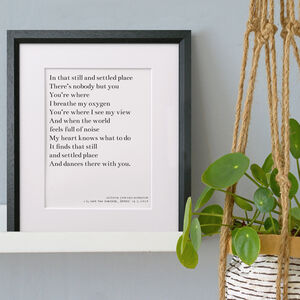 Favourite Words Print