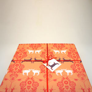 Gift Wrapping Paper Christmas Reindeer