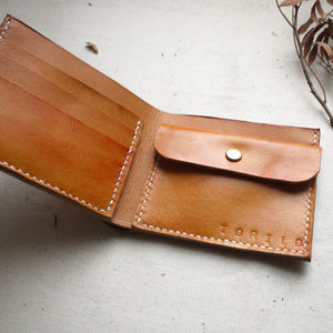 Leather Simple Wallet