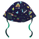 Farm Print Reversible Baby Sun Hat