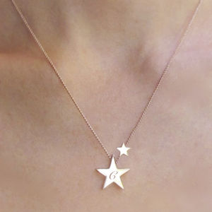 My Lucky Star Personalised Necklace - winter sale