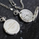 Personalised Engraved Name Pocket Watch
