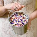 Biodegradable Petal Wedding Confetti With Pail
