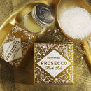 Prosecco Bath Salts And Lip Balm