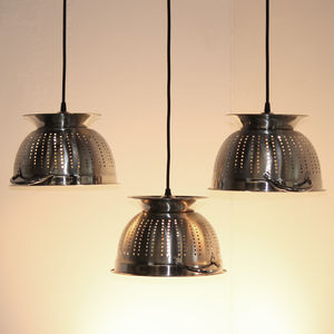 Drain It Colander Light - ceiling lights