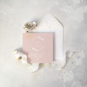Olivia Invitation - baby shower invitations