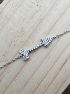 Arrow Bracelets 925 / Sterling Silver - women's jewellery