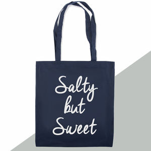 'Salty But Sweet' Tote Bag - womens