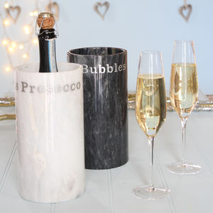 Prosecco Or Champagne Marble Cooler