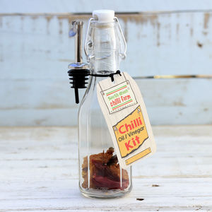 Make Your Own Chilli Oil Or Vinegar Kit - spice-lover gifts