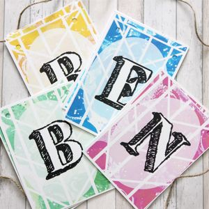 Personalised Bunting, Personalised Party Bunting