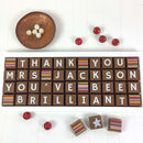 Personalised Thank You Teacher Chocolate Message Gift