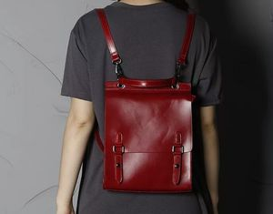 Minimalist Genuine Leather Backpack Personalised - whats new