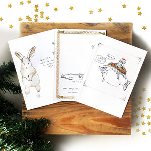 Funny Holiday Card Pack - cards