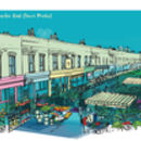 Columbia Road Flower Market Card