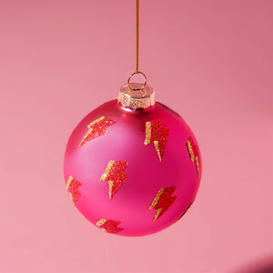 Girl Power Christmas Bauble
